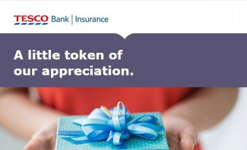 Tesco Home Insurance Gift Card