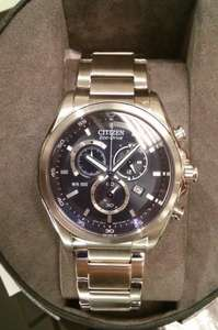 Citizen Eco-Drive Men's Stainless Steel Bracelet Watch, £99.99 delivered from h.samuels