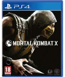 Mortal Kombat X on the PS4/XBOX One - £14.99 at Argos