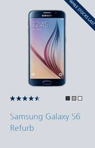 O2 Refresh Samsung Galaxy S6 Refurb £259.99