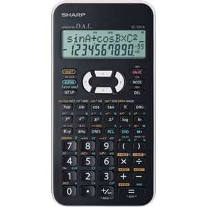 Sharp EL531XBWH Scientific Calculator - White Was £5.99 Now £2.99 @ Argos