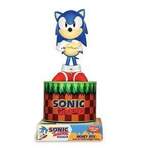 Sonic the Hedgehog Vinyl Money Box £4.49 (using code) @ Zavvi