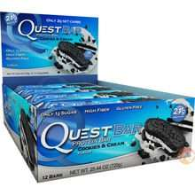 Quest Protein Bars - Box of 12 for £11 at Predator Nutrition - Huge Savings!