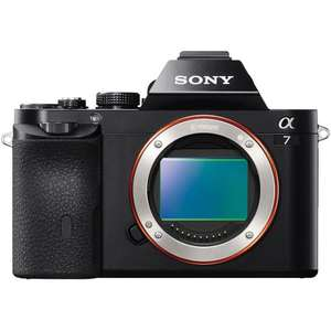 Sony A7 full frame digital camera body used £591.61 (£391.61 after cashback) @ Amazon Warehouse