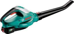 Bosch ALB 18 LI Cordless Leaf Blower with battery and charger for £49.99 at Amazon Lightning Deals