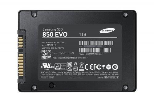 Samsung 2.5-Inch 1 TB 850 EVO Solid State Drive £184.99 @ Amazon