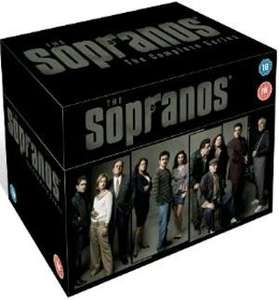 The Sopranos: The Complete Series (DVD) (€41.99) £29.58 @ xtravision ie