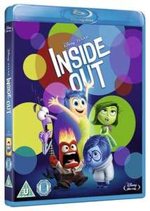 Disney inside out free at DMR with points (Disney movie rewards) Blu-Ray 700 points 3d blu Ray 900 points