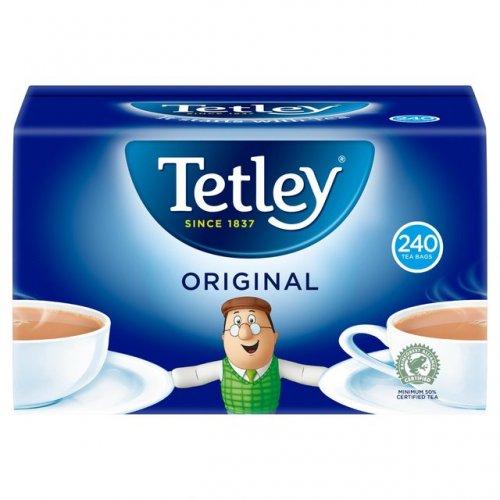Tetley Tea Bags 240 Pack 750g £2.37 @ Morrisons