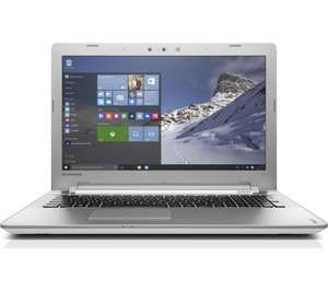 "LENOVO Ideapad 500 15.6"" Laptop - White Core™ i7-6500U, Memory: 12 GB DDR3, AMD Radeon R7 M360 Full HD.  Currys.  Potential price £495.83 after lenovo cashback and quidco"