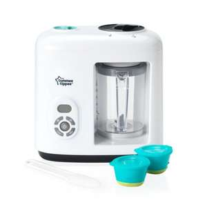Tommee Tippee Baby Food Steamer Blender - was £70, now £44.99 (possibly £27.49 with Amazon Family code)@ Amazon Lightning Deal