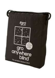 Gro anywhere blackout blind NEW VERSION £14.99 PRIME @ Amazon (Lightning Deal)