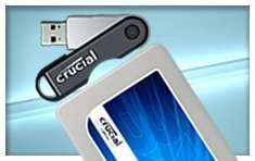 Buy any Crucial SSD, get a 32GB USB 2.0 for £1!