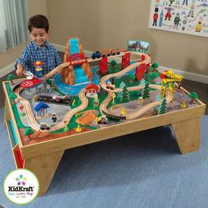 KidKraft Waterfall Station Train Set and Table (3+ Years) Delivered £49.99 @ Costco