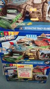 Thunderbirds interactive Tracy Island £39.99 Ramsden's Grimsby (Toymaster chain)