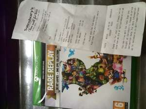 Rare Replay Xbox One in store Sainsburys only £10.99