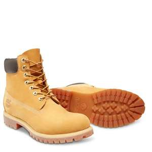 Timberland 6 Inch Premium Classic Boot - Wheat Nubuck - £119.96 Delivered (25% off today only) (7% quidco also) @ bellsshoes