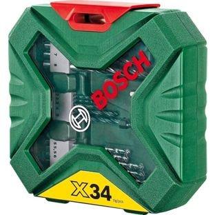 Bosch 34 Piece X-Line Classic Drill & Screwdriver Bit Set @ Argos - £7.49