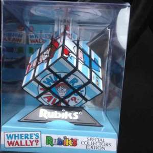 Where's Wally special edition Rubik's cube £8.65 @ Sainsburys reduced from £12.99