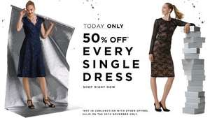 LONG TALL SALLY 50% OFF DRESSES TODAY ONLY