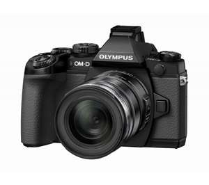 OLYMPUS OM-D E-M1 Camera with 12-50 mm f/3.5-6.3 Lens (£706 with cashback) @ Currys