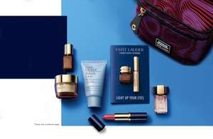 Estée Lauder Cyber Monday only 7free products and bag plus 2 free samples with any purchase