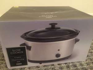 3L slow cooker £10.00 @ Tesco instore