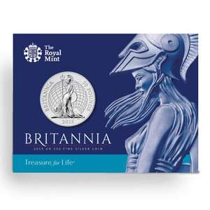 The UK's First £50 for £50 coin @ The Royal Mint + Free Postage