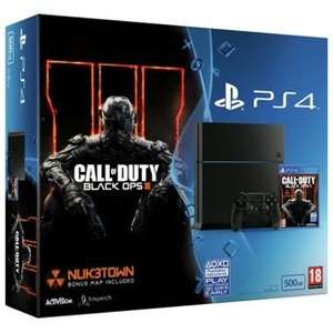 PS4 500gb Console + Call of Duty Black Ops 3 + Fifa 16 + [choose a game] £299.99 @ Argos