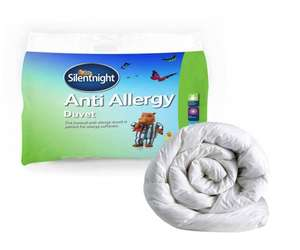 Silentnight Anti-Allergy KING SIZE Duvet 10.5 Tog £14.00 (prime) £18.75 (non prime) @ Amazon