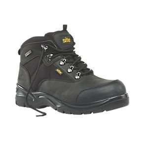 Site Onyx Safety Boots Black Size 9..£24.99..screwfix.com