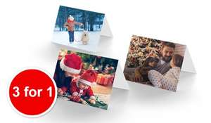 30 personalised photo christmas cards - £12.97 delivered - BONUSPRINT