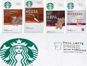 Starbucks Ground Coffee 200g bags £2.50 and get a Free Latte worth up to £2.75 at Starbucks (Incl. Welcome Break sites). Available at Tesco/Ocado/Asda/Waitrose