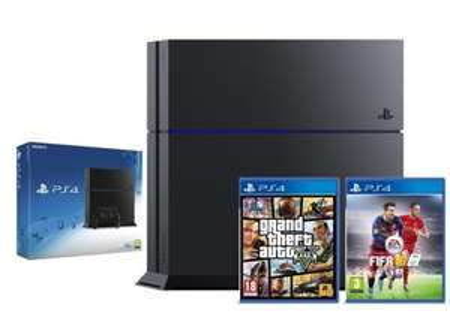 Ps4 console + GTA 5 + FIFA 16 shopto ebay outlet £269.99 at eBay / Shopto