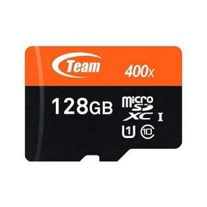128gb TEAM microSD cl10 uhs1 60MB/s £32.87 delivered @ MemoryC