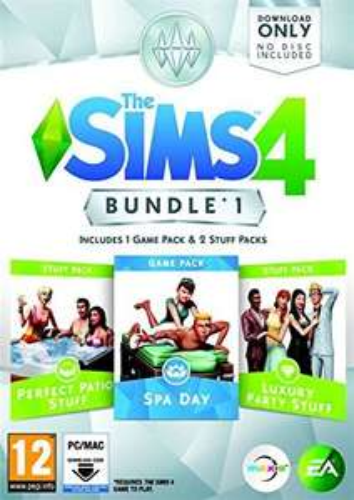 The Sims 4 Bundle Pack 1 @ Amazon £14.99 (PC Origin Code)