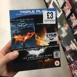 batman begins+ dark knight bluray set £3 @ fopp