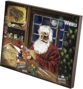 advent calendar 2015 - wera-tools (via uk tool centre) - £49.95