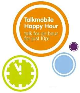 Talkmobile new pay as you go Happy Hour deal