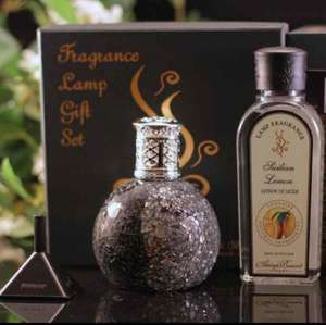 Ashleigh & Burwood Fragrance Lamp + set of 3 frangrance refills £19.99 @ Achica