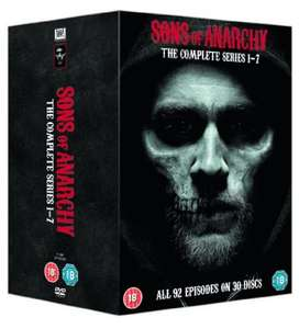 Sons of Anarchy Seasons 1-7 DVD Box Set £24.99 @ Amazon