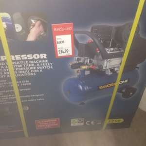 Compressor £35 in store @ Aldi
