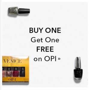 BOGOF - OPI NAIL VARNISH @ Beauty Bay