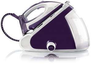 Philips GC9236/02 PerfectCare Expert Steam Generator Iron with OptimalTemp - 320 g Steam Boost, 1.5 L, 2400 W, Purple/White £169.99 @ Amazon