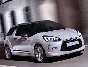 Only £59.99/month with £1198 initial rental 10000 miles/yr (14 month deal) - Citroen DS3 Hatch 1.6 BlueHDi 100 DStyle Nav Start+Stop.