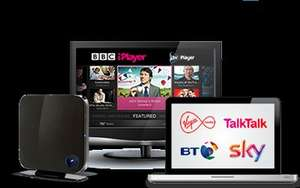 Uswitch Virgin Media deal 50MB @ £5/ month with £ 17.99/month line rental - 12 Month contract and £50 credit for new customers