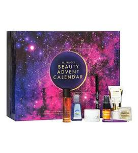 Selfridges beauty advent calendar £60 back in stock!!