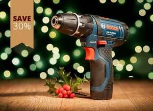 BOSCH GSB 10.8-2-LI CORDLESS COMBI DRILL & I-BOXX CASE 10.8V (2.0AH) £69.95 delivered @ Axminster