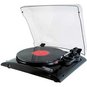 Ion Profile Lp Usb Turntable And Vinyl Archiver (Gloss Black) £69 At Tesco