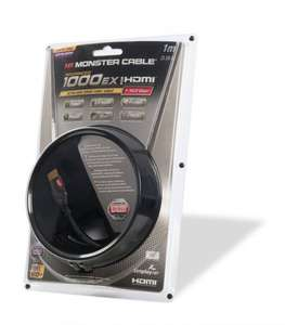 Monster Advanced Ultra High Speed 1000EX HDMI Cable - 1m £4.99 @ ebuyer.com